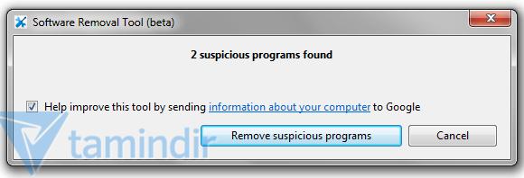 Google Software Removal Tool Ekran Görüntüleri - 1