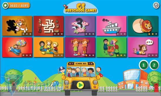 GS Preschool Games Ekran Görüntüleri - 3
