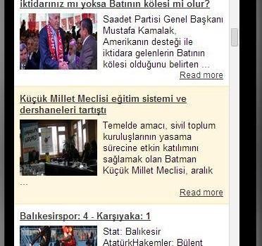 Haber RSS Ekran Görüntüleri - 3