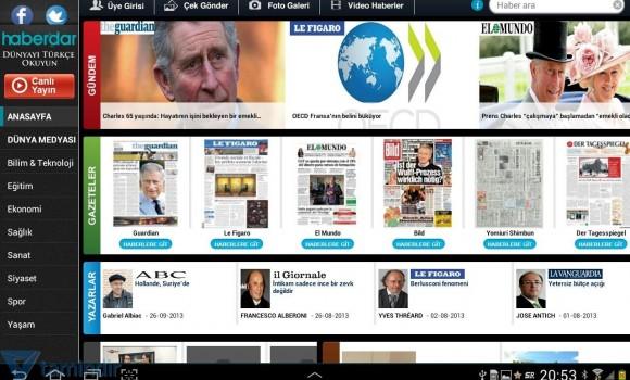Haberdar Tablet Ekran Görüntüleri - 3