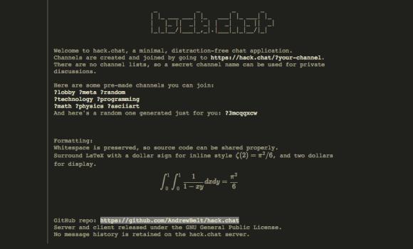 Hack.Chat Ekran Görüntüleri - 2