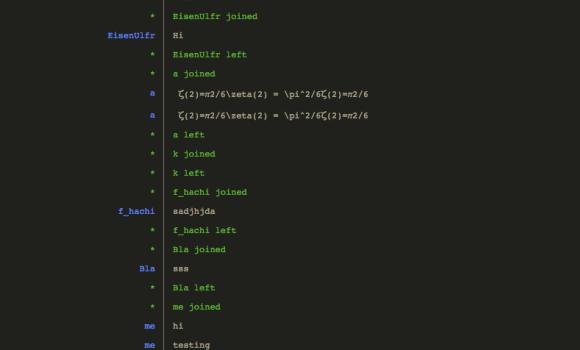 Hack.Chat Ekran Görüntüleri - 1