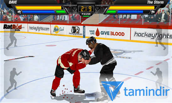 Hockey Fight Lite Ekran Görüntüleri - 3