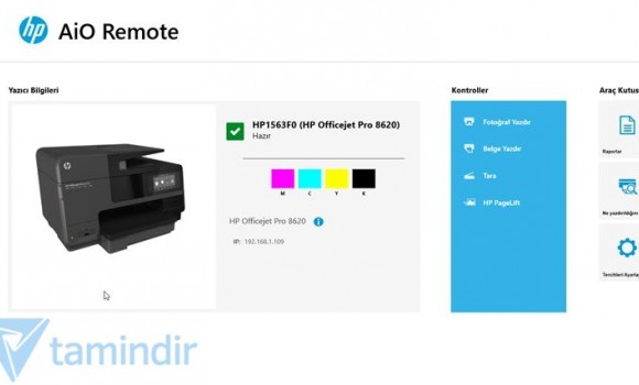 HP All-in-One Printer Remote Ekran Görüntüleri - 3