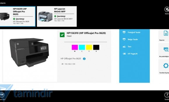 HP All-in-One Printer Remote Ekran Görüntüleri - 2