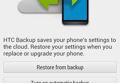 HTC Backup for HTC One Ekran Görüntüleri - 3