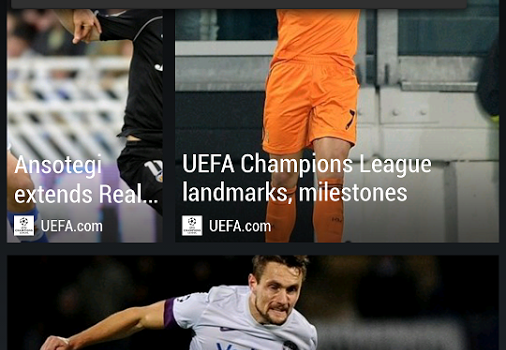 HTC FootballFeed Ekran Görüntüleri - 2
