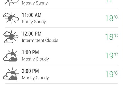 HTC Weather Ekran Görüntüleri - 2