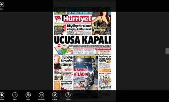 Hurriyet E-gazete Ekran Görüntüleri - 4