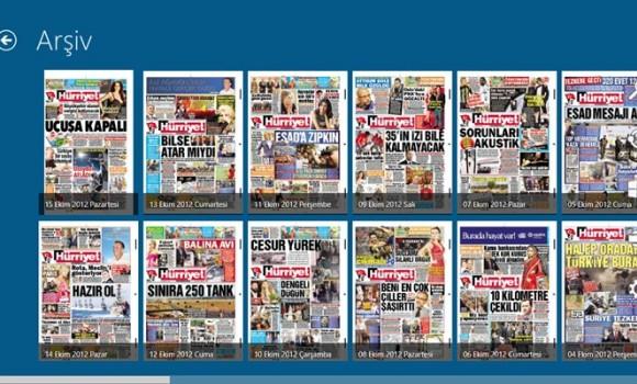 Hurriyet E-gazete Ekran Görüntüleri - 2