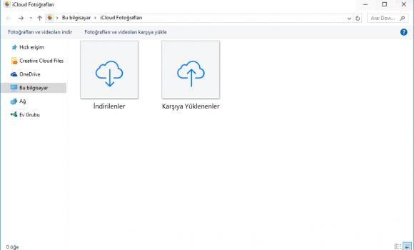 iCloud Denetim Masası Ekran Görüntüleri - 4