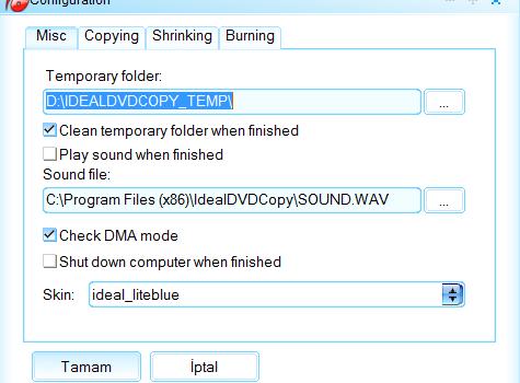 Ideal DVD Copy Ekran Görüntüleri - 1