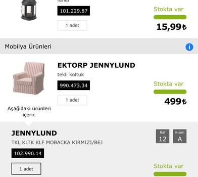 IKEA Mobil Ekran Görüntüleri - 2