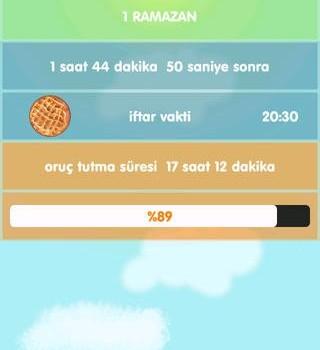İmsakiye Türkiye 2014 Ekran Görüntüleri - 1
