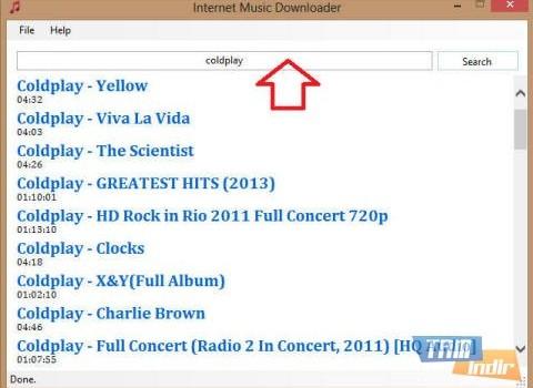Internet Music Downloader Ekran Görüntüleri - 3
