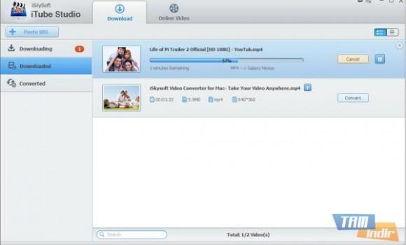 iSkysoft iTube Studio Ekran Görüntüleri - 1