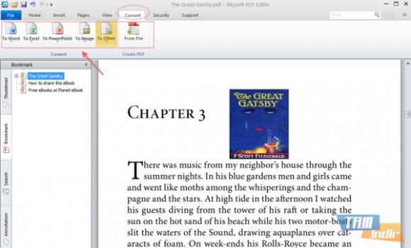 iSkysoft PDF Editor Ekran Görüntüleri - 1