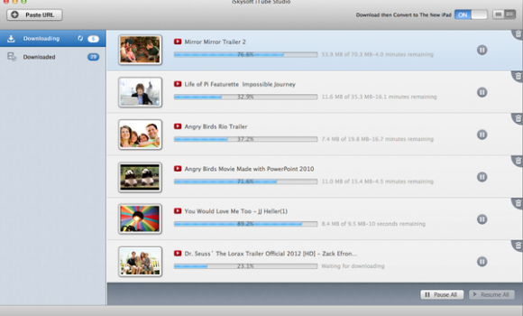 iSkysoft iTube Studio Ekran Görüntüleri - 3