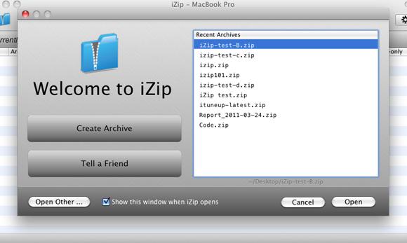 iZip Ekran Görüntüleri - 4