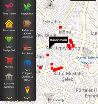 İzmir Şehir Rehberi Ekran Görüntüleri - 1