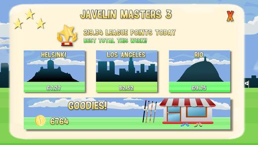 Javelin Masters 3 Ekran Görüntüleri - 1