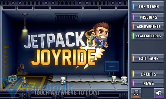 Jetpack Joyride Ekran Görüntüleri - 1