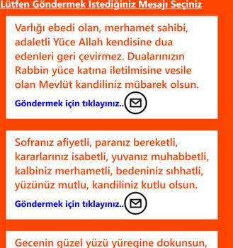 Kandil,Bayram SMS Ekran Görüntüleri - 2