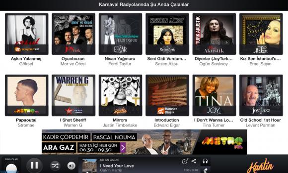 Karnaval Radyo for Tablet Ekran Görüntüleri - 1