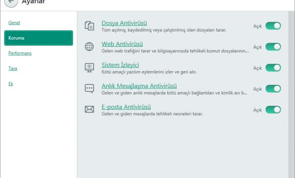 Kaspersky Anti-Virus Ekran Görüntüleri - 3