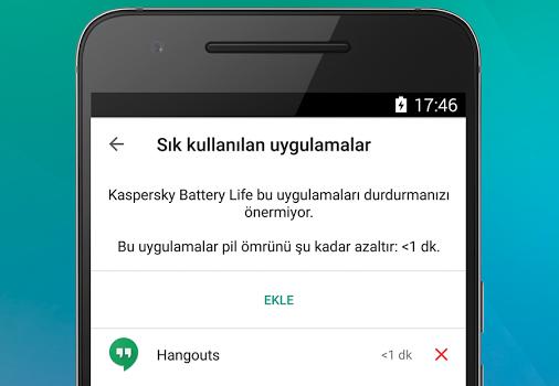 Kaspersky Battery Life Ekran Görüntüleri - 4