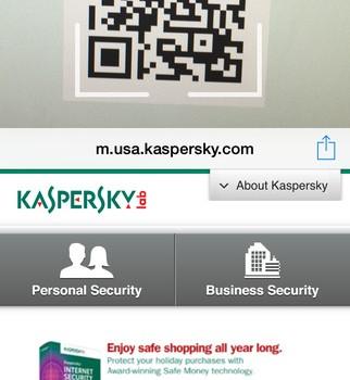 Kaspersky QR Scanner Ekran Görüntüleri - 3