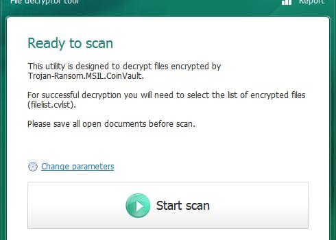 Kaspersky Ransomware Decryptor Ekran Görüntüleri - 2