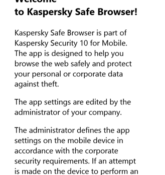 Kaspersky Safe Browser Ekran Görüntüleri - 2