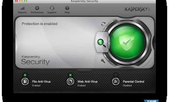 Kaspersky Security for Mac Ekran Görüntüleri - 1