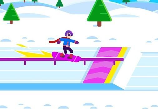 Ketchapp Winter Sports Ekran Görüntüleri - 1