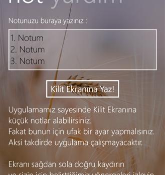 Kilit Ekranı Notum Ekran Görüntüleri - 3