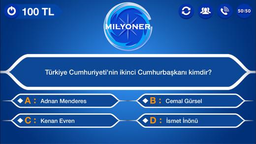 Kim Milyoner 2016 Bilgi Yarışması Ekran Görüntüleri - 3