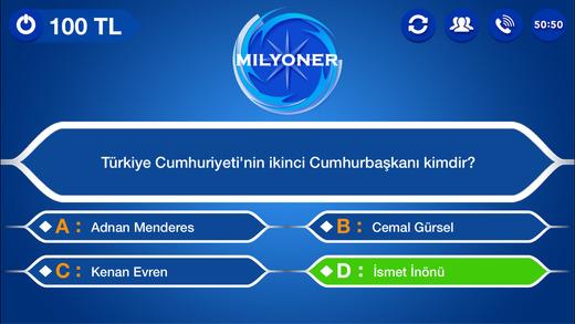 Kim Milyoner 2016 Bilgi Yarışması Ekran Görüntüleri - 2