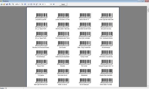KÜPSİS Kütüphane Otomasyonu Ekran Görüntüleri - 4