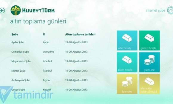 Kuveyt Türk Ekran Görüntüleri - 1