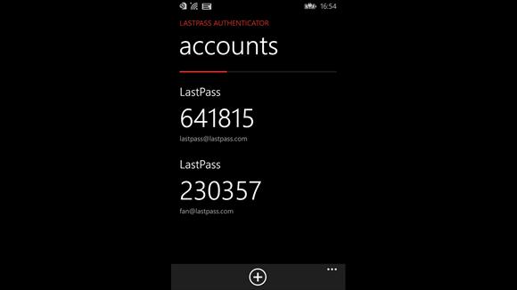 LastPass Authenticator Ekran Görüntüleri - 1