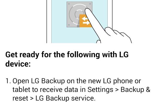 LG Backup Ekran Görüntüleri - 2