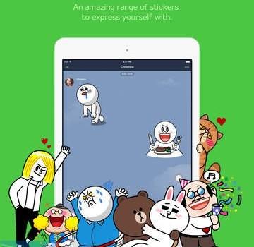 LINE for iPad Ekran Görüntüleri - 1