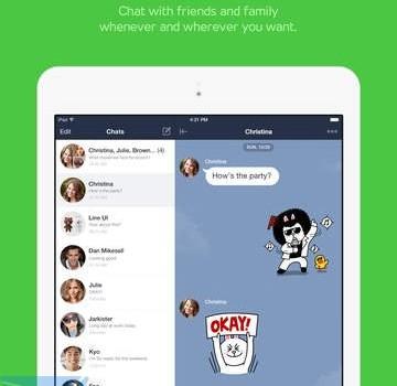 LINE for iPad Ekran Görüntüleri - 2