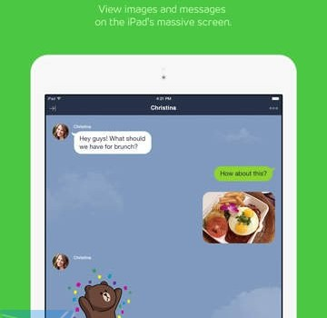 LINE for iPad Ekran Görüntüleri - 3
