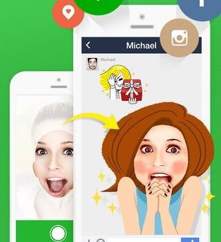 LINE Selfie Sticker Ekran Görüntüleri - 3