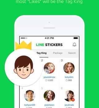 LINE Stickers Ekran Görüntüleri - 2
