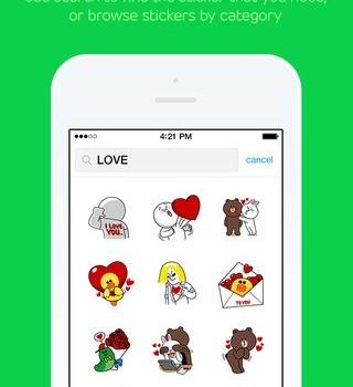 LINE Stickers Ekran Görüntüleri - 1