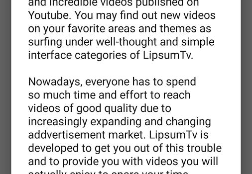 LipsumTv Ekran Görüntüleri - 1