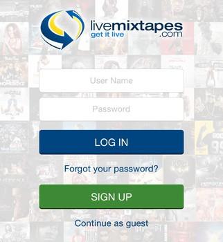 LiveMixtapes Ekran Görüntüleri - 1